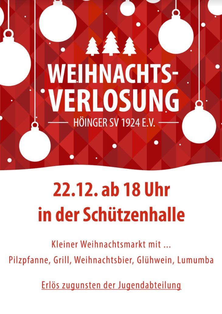 Weihnachtsverlosung Höingen