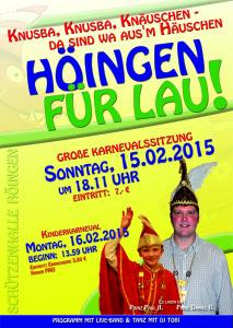 2015 Karneval Höingen