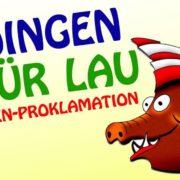Prinzenproklamation Höinger Karneval