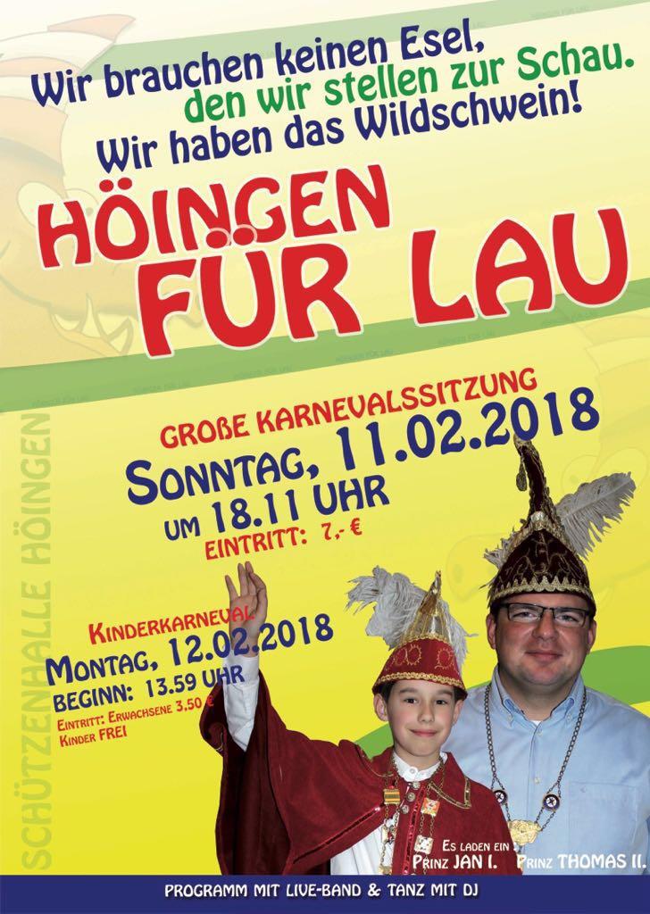 Höinger Karneval 2018