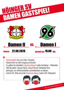 Bayer Leverkusen - Hannover 96 Damen Testspiel