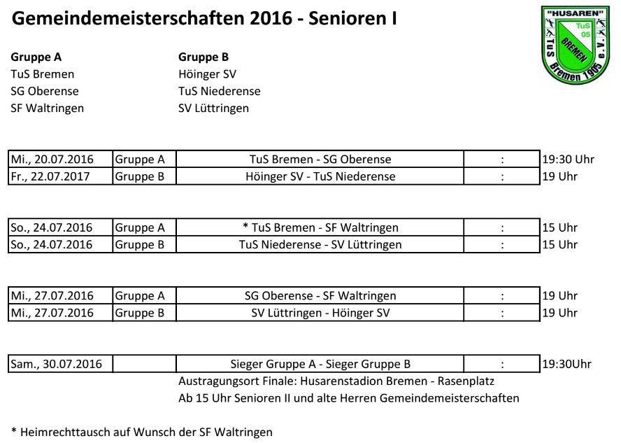 Enser Gemeindemeisterschaften 2016 Senioren I