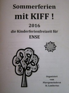 KIFF Deckblatt