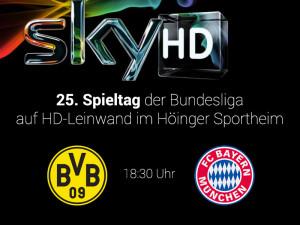 Sky Bar BVB gegen FCB