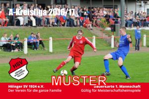 Dauerkarte Höinger SV A-Kreisliga Soest