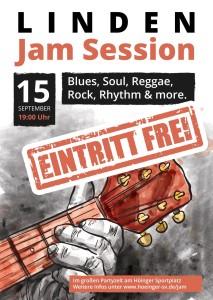 Jam Session 2017 - Eintritt kostenlos