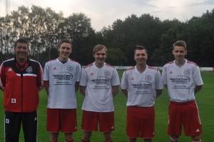 MIt Thomas Sauer, Philipp Doffine (beide Tus Bremen), David Gryzik (SuS Günne) und Julian Strunz (eig. A-Jugend) konnten 4 Neuzugänge vorgestellt werden.