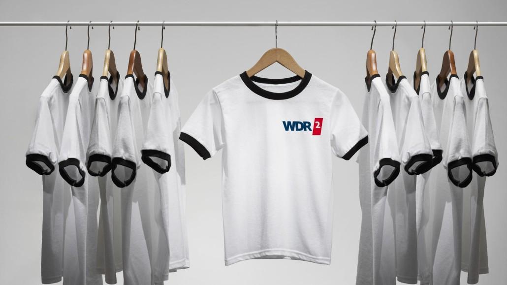 WDR2 Trikottausch